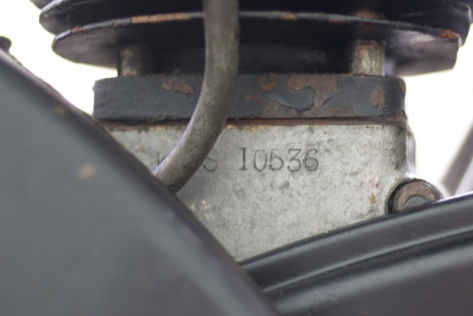 1947 Velocette 349cc KSS MkII Frame no. 8963 Engine no. 10536