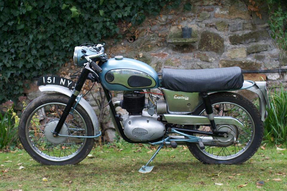 1961 James 199cc Captain Frame no. CL20 1352 Engine no. 20T 2044