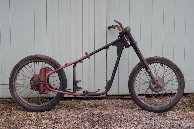 1956 BSA 123cc Bantam D1 ex-GPO Frame no. BD2S 60191