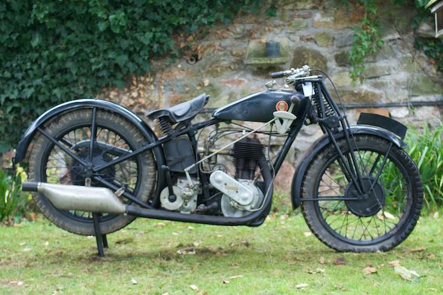 1928 Ariel Model B De Lux