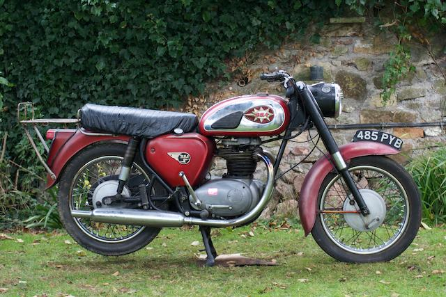 1962 BSA 650cc A65 Star Twin Frame no. A50 537 Engine no. A65 880
