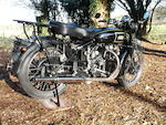 1948 Vincent 998cc Rapide Frame no. R2887 Engine no. F10AB/1/2170