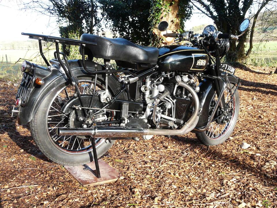 1948 Vincent 998cc Rapide Frame no. R2887 Engine no. F10AB/1/2170