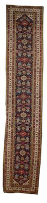 A Feraghan runner West Persia, circa 1890, 15 ft 10 in x 3 ft 3 in (482 x 100 cm) good condition