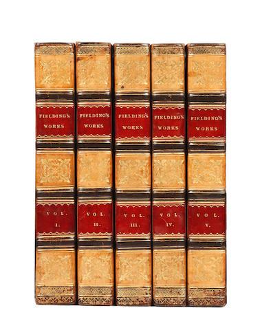 BINDINGS FIELDING (HENRY) Select Works, 5 vol., 1818