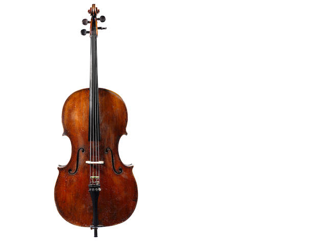 An Italian violoncello, Amati model, Venise circa 1730-1780