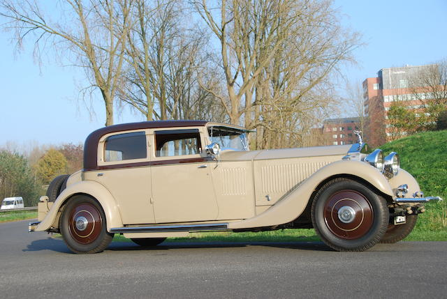 Originally owned by The Hon Dorothy Paget,1931 Rolls-Royce 40/50hp Phantom II 'Continental' Sports Saloon 1931  Chassis no. 48GX