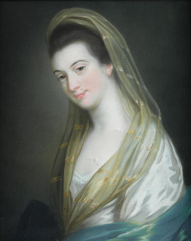 Katherine Read (Forfarshire 1723-1778 ?) Portrait of Lady Juliana Penn (1729-1801),