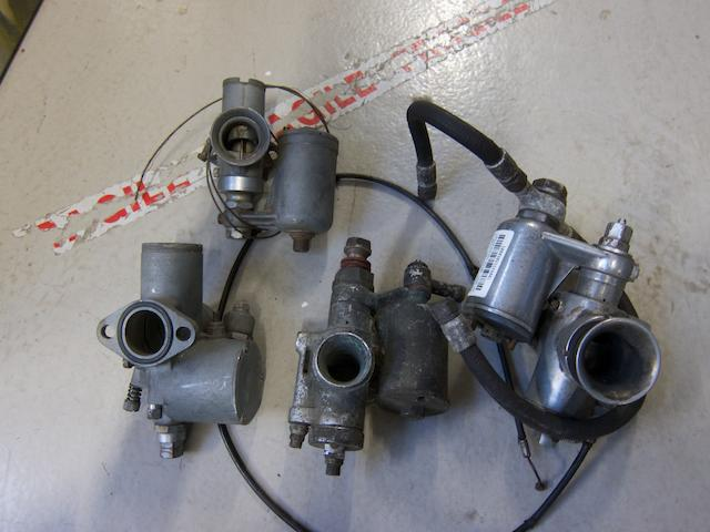 An Amal 10TT9 carburettor,