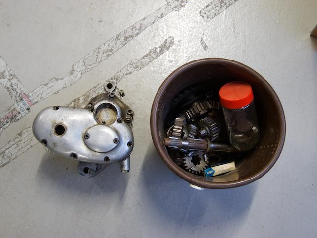 A believed Norton gearbox,