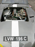 The ex-Sir John Samuel, Mike Pendlebury, John Corfield,1964  Diva  GT D-Type  Chassis no. D/38 Engine no. 109E-6015