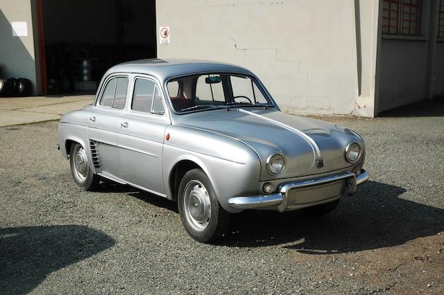 1964 Renault Dauphine Gordini Saloon  Chassis no. 3420155 Engine no. 670-05 143239