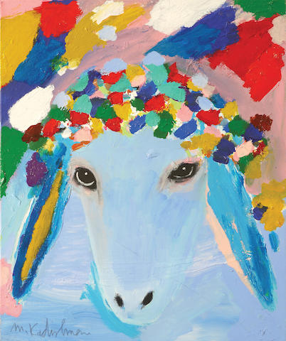 Menashe Kadishman (Israeli, born 1932) Sheep head