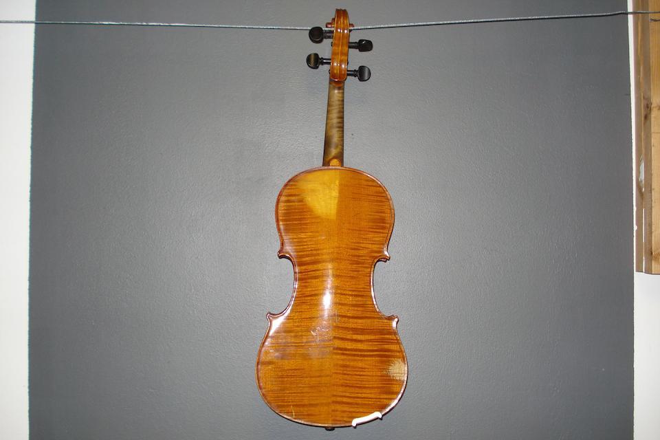 A Markneukirchen Violin circa 1900 (3)