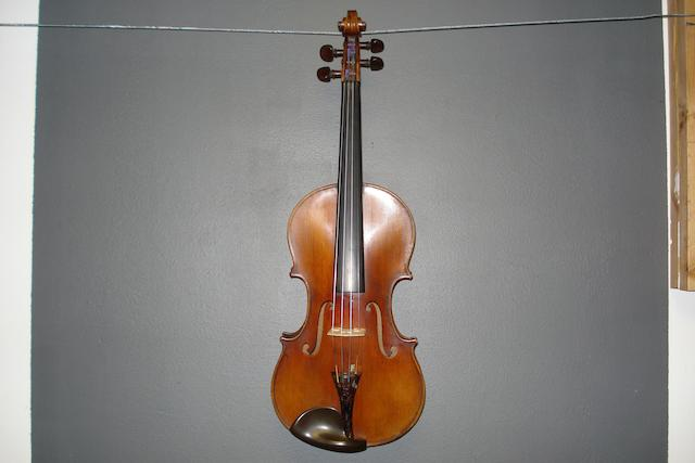 A French Violin of the Caussin School, circa 1900 (3)