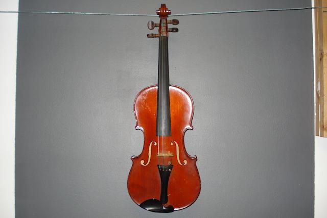 A Mirecourt Violin circa 1900 (3)