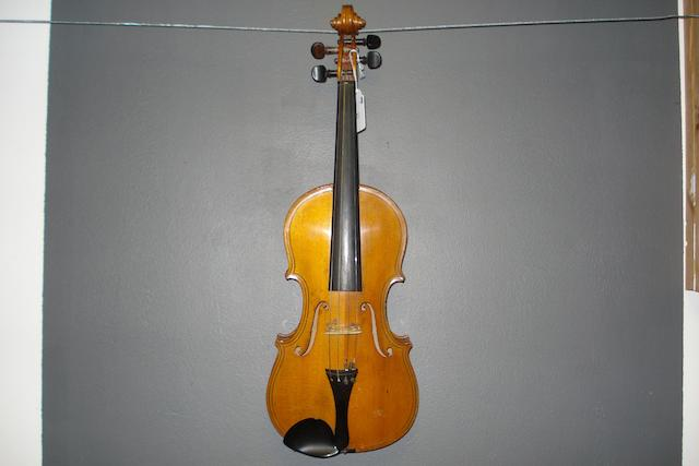 A German Violin, after Maggini, circa 1900 (3)