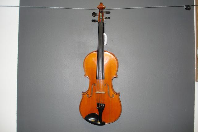 A French Violin by JTL, Mirecourt circa 1900  (3)