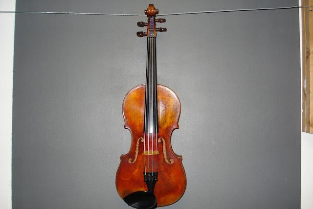 A Violin of the French School, after Maggini, circa 1880 (2)