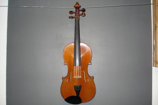 A Mirecourt Violin by Jean-Baptiste Colin 1902 (2)