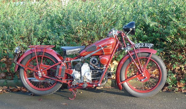 1931 Moto Guzzi 498cc Sport 15 Frame no. 13484 Engine no. L13689