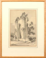 Attributed to Paul Sandby Munn (British, 1773-1845) Part of Bayham Abbey