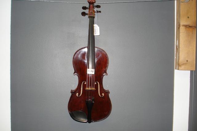 A German Viola circa 1900 (8)
