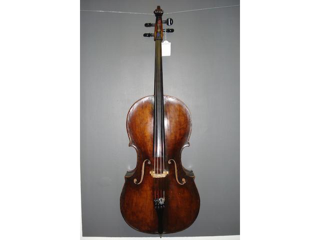 A Bohemian Cello circa 1790  (1)