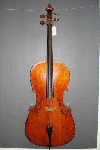 A Mittenwald Cello circa 1900 (3)