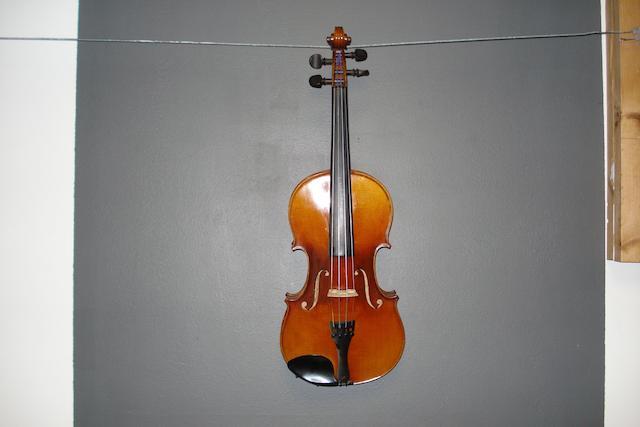 A Mirecourt Violin circa 1900 (4)