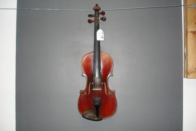 A French Violin circa 1900 (1)