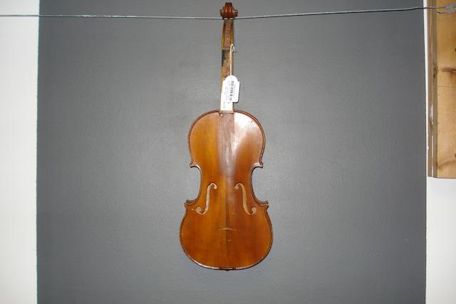 A French Violin circa 1900 (1)