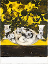 Graham Sutherland O.M. (British, 1903-1980) Untitled  Lithograph printed in colours, circa 1972, on wove, signed and numbered 9/75 in pencil, the full sheet printed to the edges, 620 x 475mm (24 37/16 x 18 11/16in) (SH)