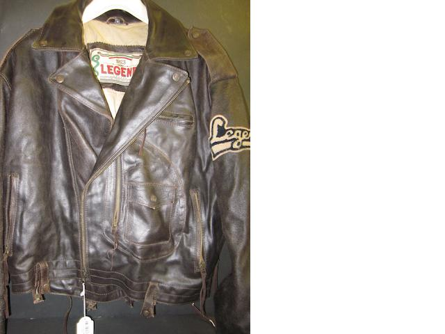 'Legends' leather jacket worn by George Best