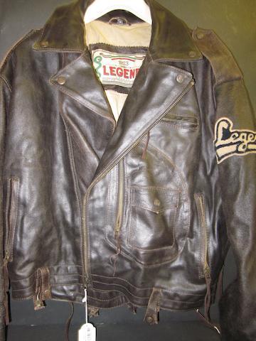 'Legends' leather jacket worn by George Best
