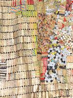 El Anatsui (Ghanaian, born 1944) 'New World Map'