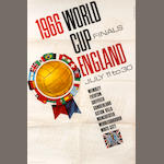 England World Cup 1966 posters