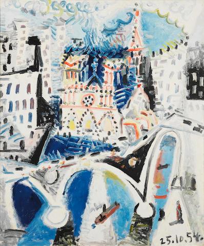 Pablo Picasso (1881-1973) Notre-Dame de Paris
