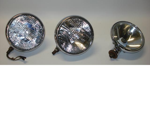 Three 'Lucas' lamps