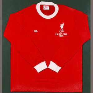 1974 F.A. Cup final Tommy Smith match worn shirt