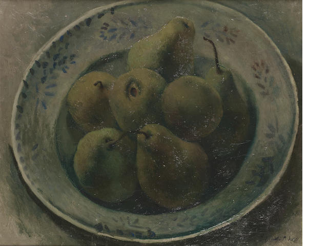 Pavel Tchelitchew (Russian, 1898-1957) A bowl of pears