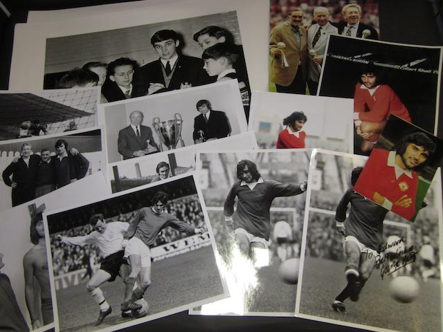 A collection of photographs - George Best