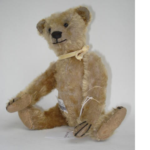 Early golden mohair Teddy bear