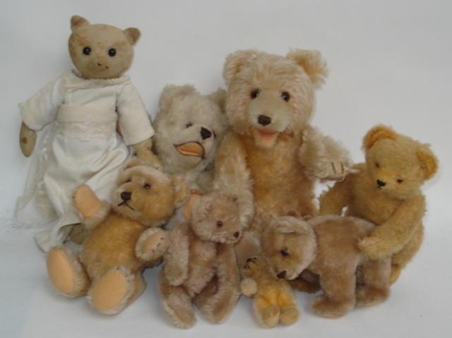 Miniature Steiff Teddy baby