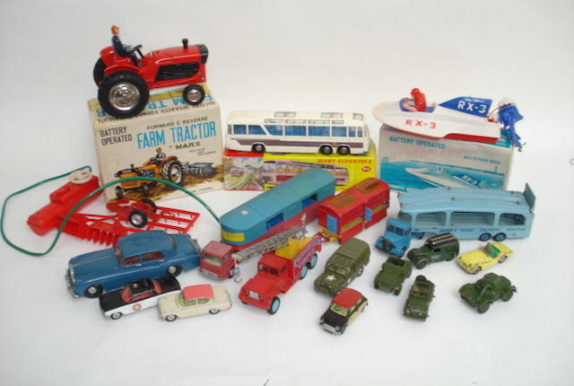 Dinky, Corgi, Matchbox and other toys lot