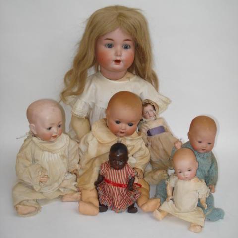 J.D Kestner 142 bisque head character baby doll 7