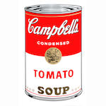 After Andy Warhol (American, 1928-1987) Campbell Soup I Ten screenprints in colours, originally printed in 1969, on wove, each with the Sunday B. Morning stamp verso, the full sheets, each 890 x 585mm (35 x 23in)(SH) (unframed)