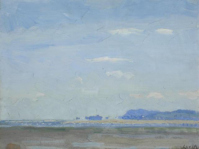 William John Leech (Irish, 1881-1968) Coastal landscape,