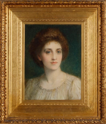 Charles Edward Hallé  (British, 1846-1914) Portrait of a lady