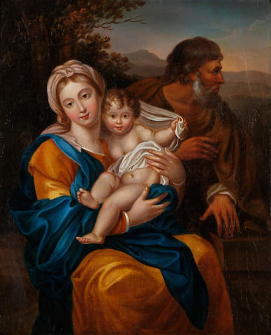 Manner of Pierre Mignard The Holy Family
